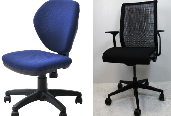 折りたためない椅子