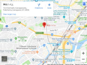 1号店googleマップ