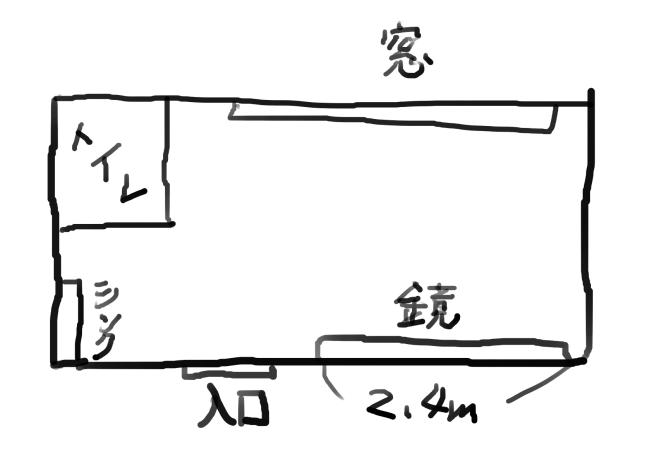 3号店の間取り図
